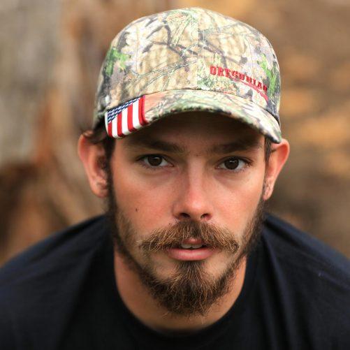 Oregunian® Bolt Action American Flag Camo Hat