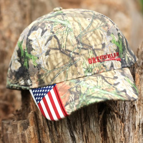 Oregunian® Bolt Action American Flag Camo Hat