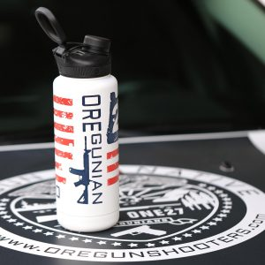 Oregunian® OR2A Flag Cerakoted Stainless Double Wall Vacuum Sealed Bottle