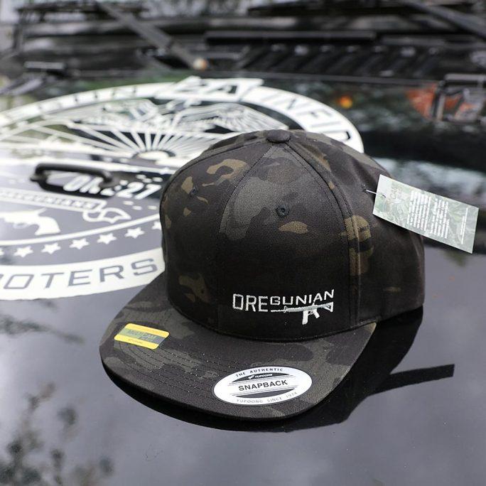 Oregunian® Yupoong Snapback Flatbill Hat