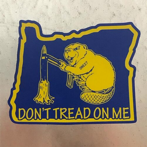 Oregun™ Don't Tread On Me Sticker