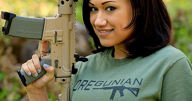 Oregunian AR-15 Tee