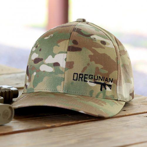 OREGUNIAN AR-15 MULTICAM FLEXFIT HAT