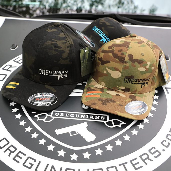 Oregunian® AR-15 Multicam Flexfit Hat