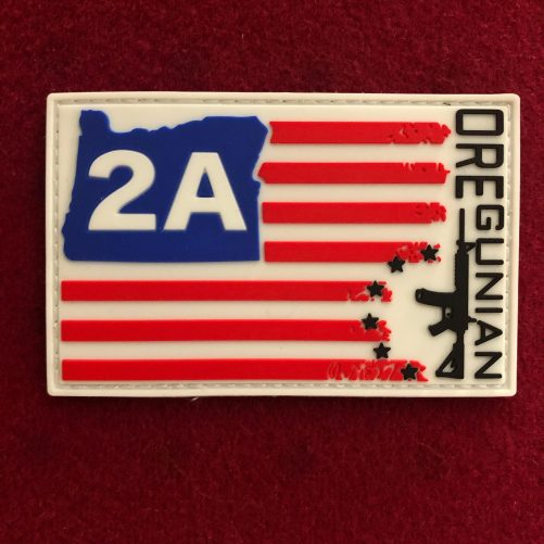 OR2A™ Oregunian® Betsy Flag Patch