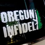 Oregun Infidel Sticker