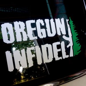 Oregun Infidel AK-47 Tree Decal