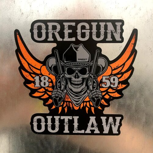 Oregun Outlaw™ Sticker