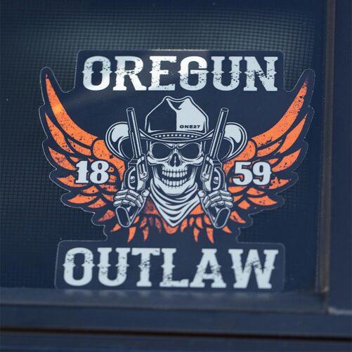 Oregun Outlaw™ Sticker