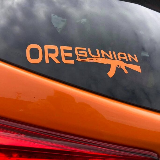 Oregunian® AK-47 Rifle Decal