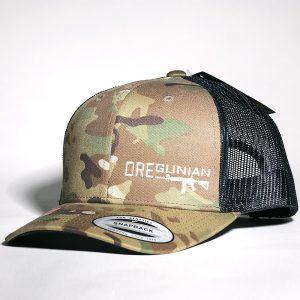 Oregunian AR-15 Multicam Trucker Hat