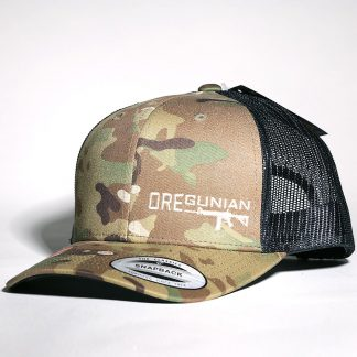 Oregunian AR-15 Multicam Trucker Hat