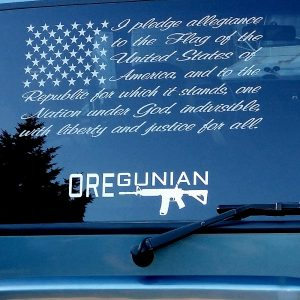 Oregunian AR-15 Rifle Decal