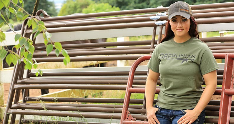 Oregunian AR Tee & Bolt Action Rifle Hat
