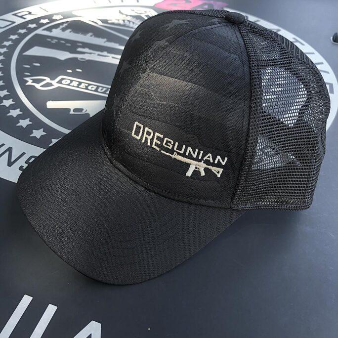 Oregunian® Black Flag Trucker Hat