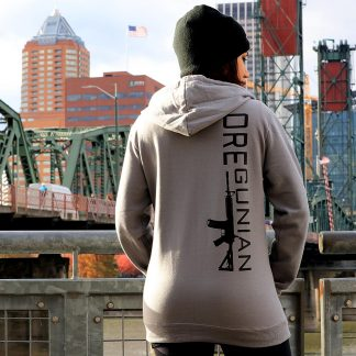 Oregunian AR-15 Full Zip Fleece Hoodie