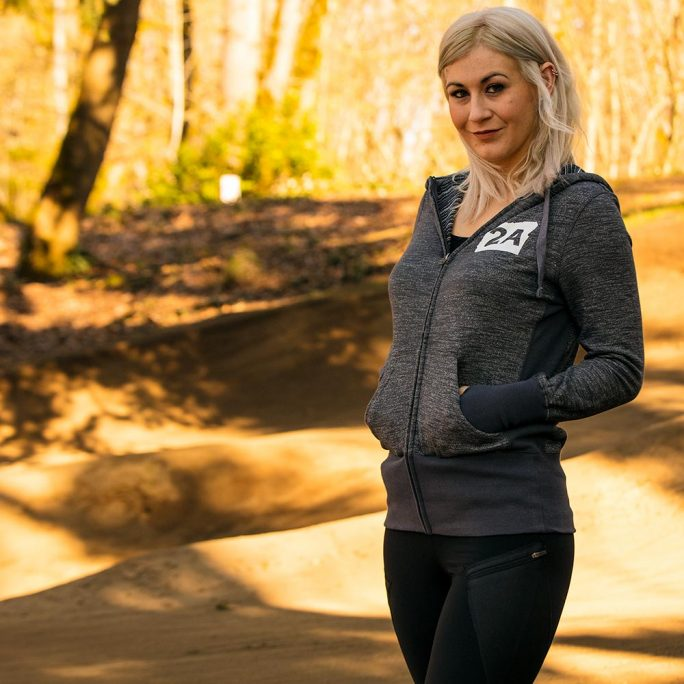 Oregunian® Ladies Full Zip Hoodie