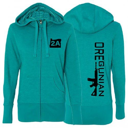 Oregunian® Ladies Full Zip Hoodie