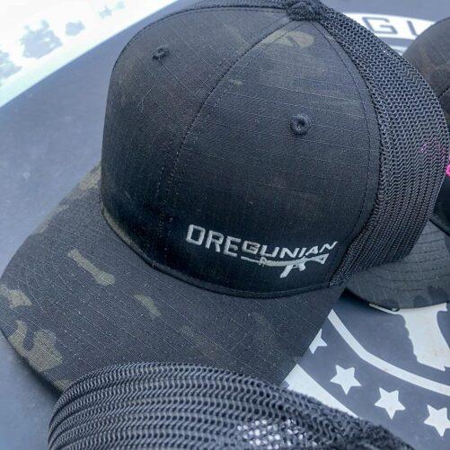 Oregunian® AR15 Black Multicam Trucker Hat