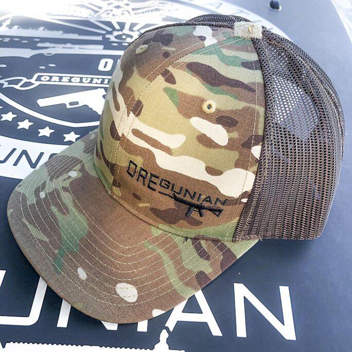 Oregunian® Coyote Brown Multicam Trucker Hat