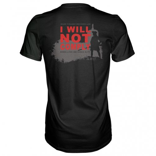 Oregunian® I WILL NOT COMPLY Tee