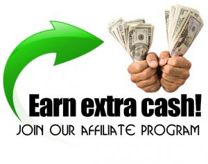 Join our affiliate program and start earning extra cash!